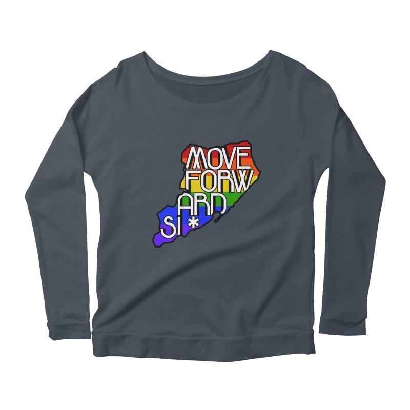 PRIDE Women's Scoop Neck Longsleeve T-Shirt by moveforwardsi's Artist Shop