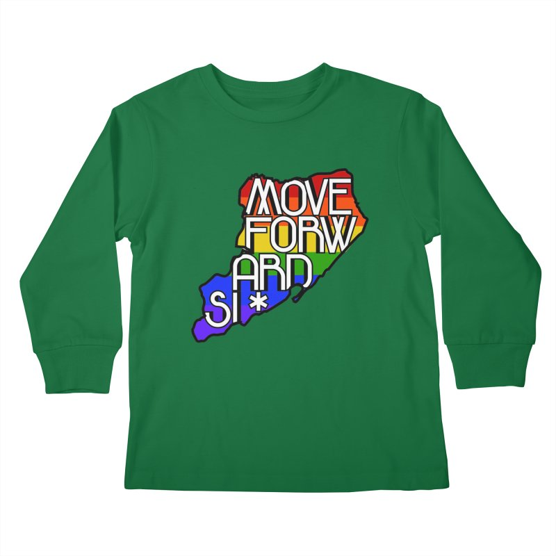 PRIDE Kids Longsleeve T-Shirt by moveforwardsi's Artist Shop