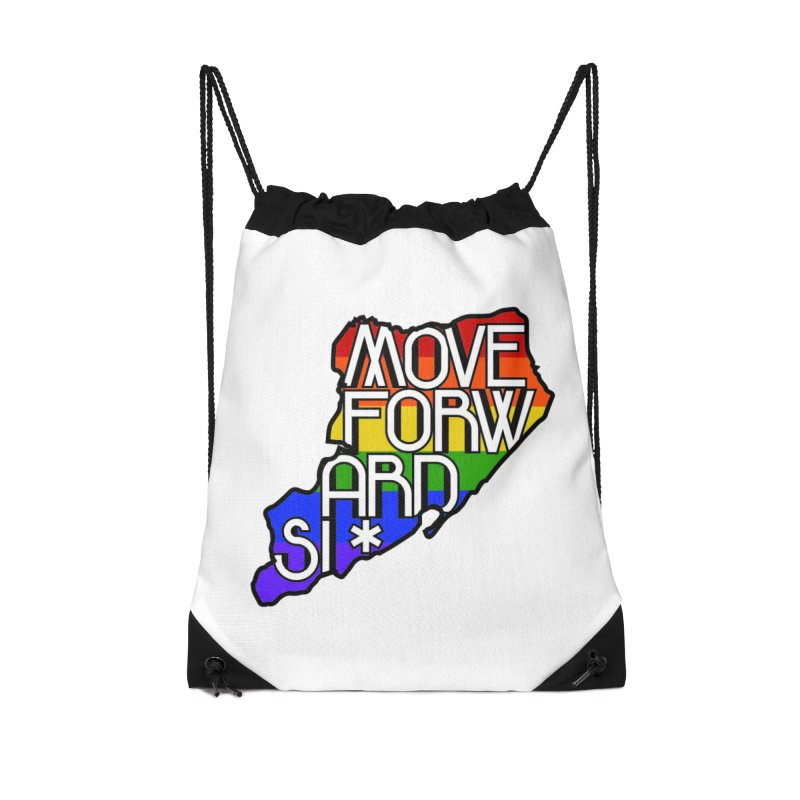 PRIDE Accessories Drawstring Bag Bag by moveforwardsi's Artist Shop