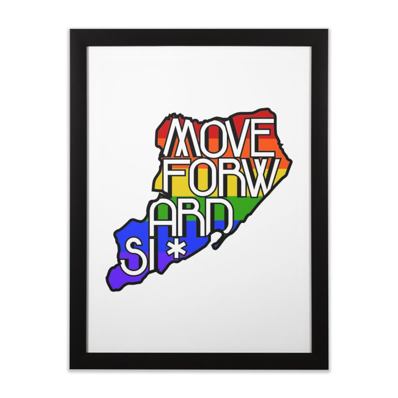 PRIDE Home Framed Fine Art Print by moveforwardsi's Artist Shop