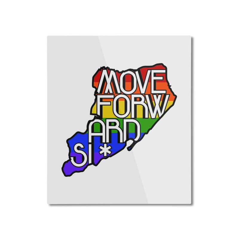 PRIDE Home Mounted Aluminum Print by moveforwardsi's Artist Shop