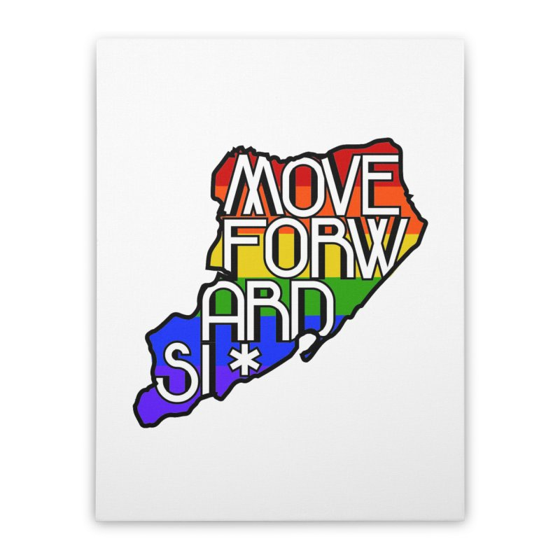 PRIDE Home Stretched Canvas by moveforwardsi's Artist Shop