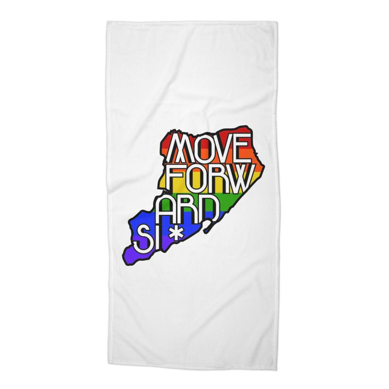 PRIDE Accessories Beach Towel by moveforwardsi's Artist Shop