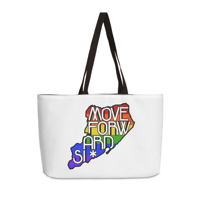 PRIDE Accessories Weekender Bag Bag by moveforwardsi's Artist Shop