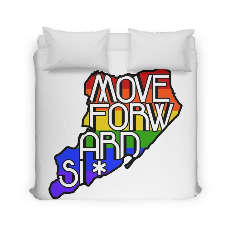 PRIDE Home Duvet by moveforwardsi's Artist Shop