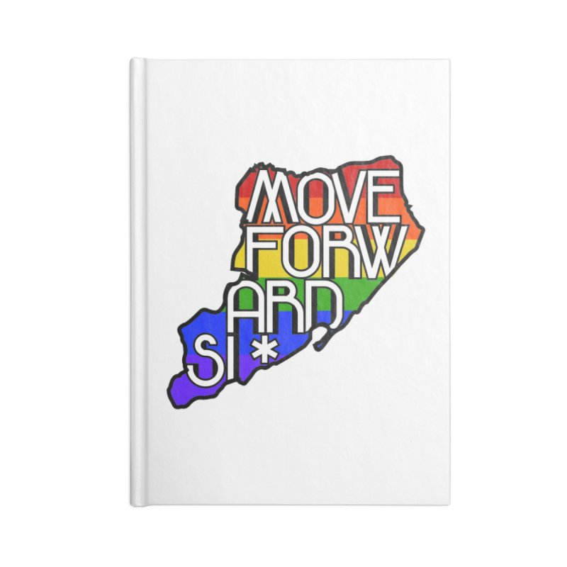 PRIDE Accessories Lined Journal Notebook by moveforwardsi's Artist Shop