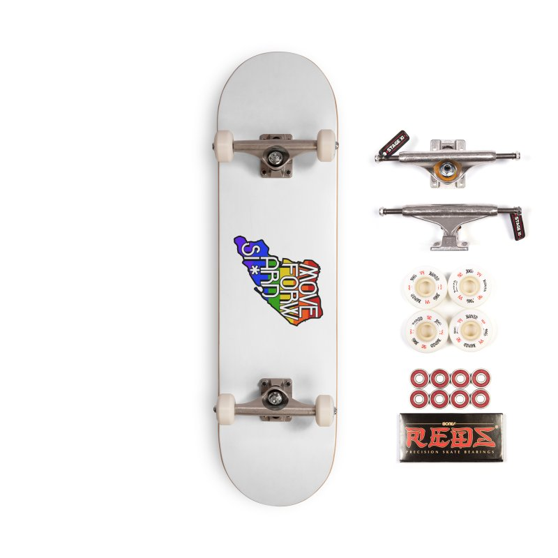 PRIDE Accessories Complete - Pro Skateboard by moveforwardsi's Artist Shop