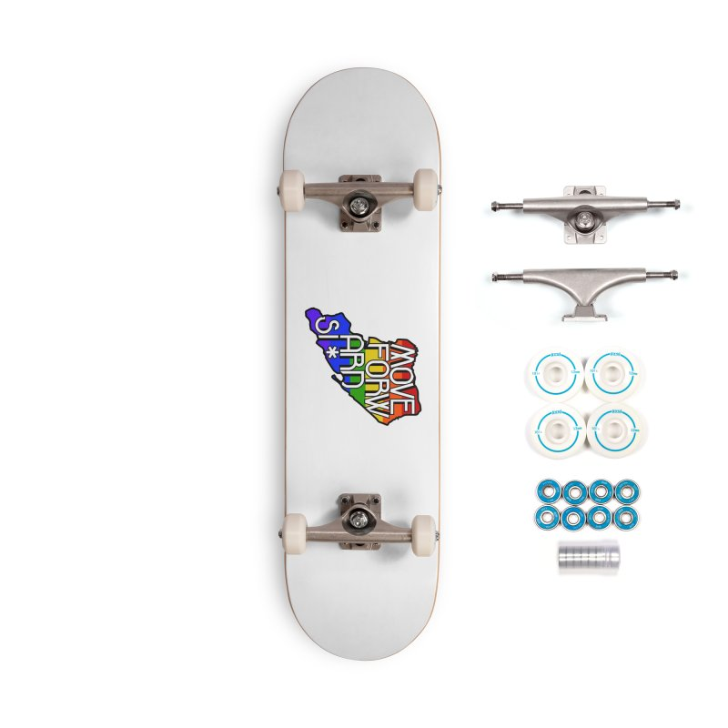 PRIDE Accessories Complete - Basic Skateboard by moveforwardsi's Artist Shop