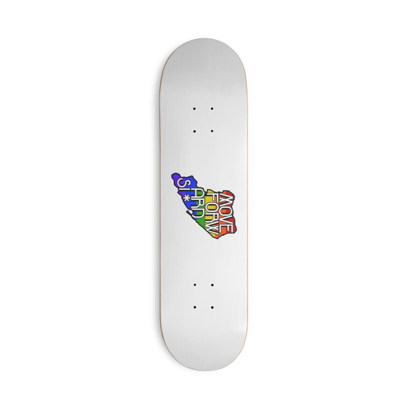 PRIDE Accessories Deck Only Skateboard by moveforwardsi's Artist Shop