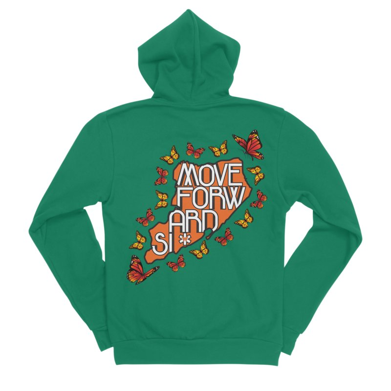 Immigrant Heritage Women's Sponge Fleece Zip-Up Hoody by moveforwardsi's Artist Shop