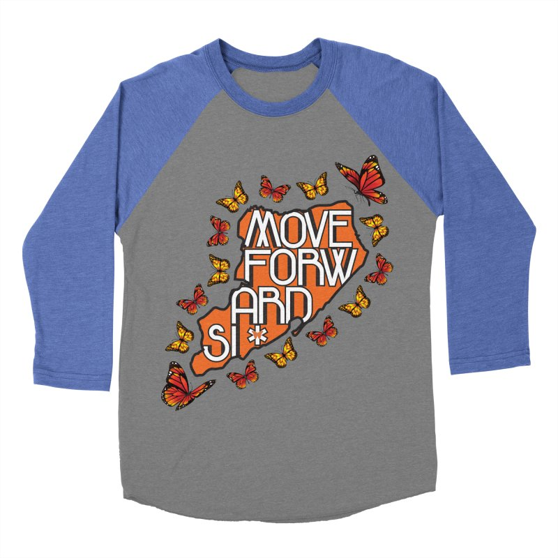 Immigrant Heritage Men's Baseball Triblend Longsleeve T-Shirt by moveforwardsi's Artist Shop