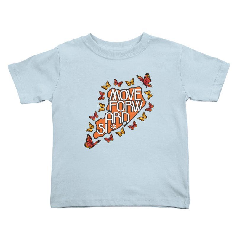 Immigrant Heritage Kids Toddler T-Shirt by moveforwardsi's Artist Shop