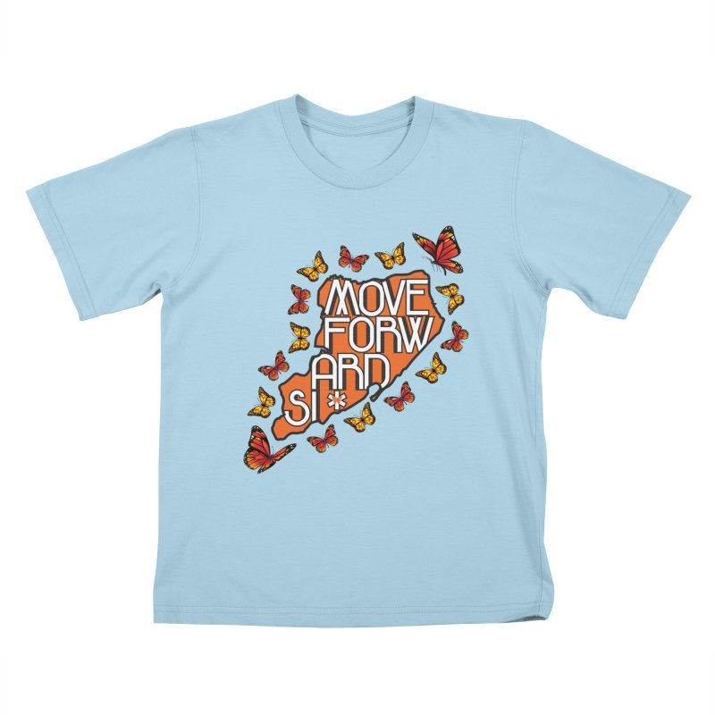 Immigrant Heritage Kids T-Shirt by moveforwardsi's Artist Shop