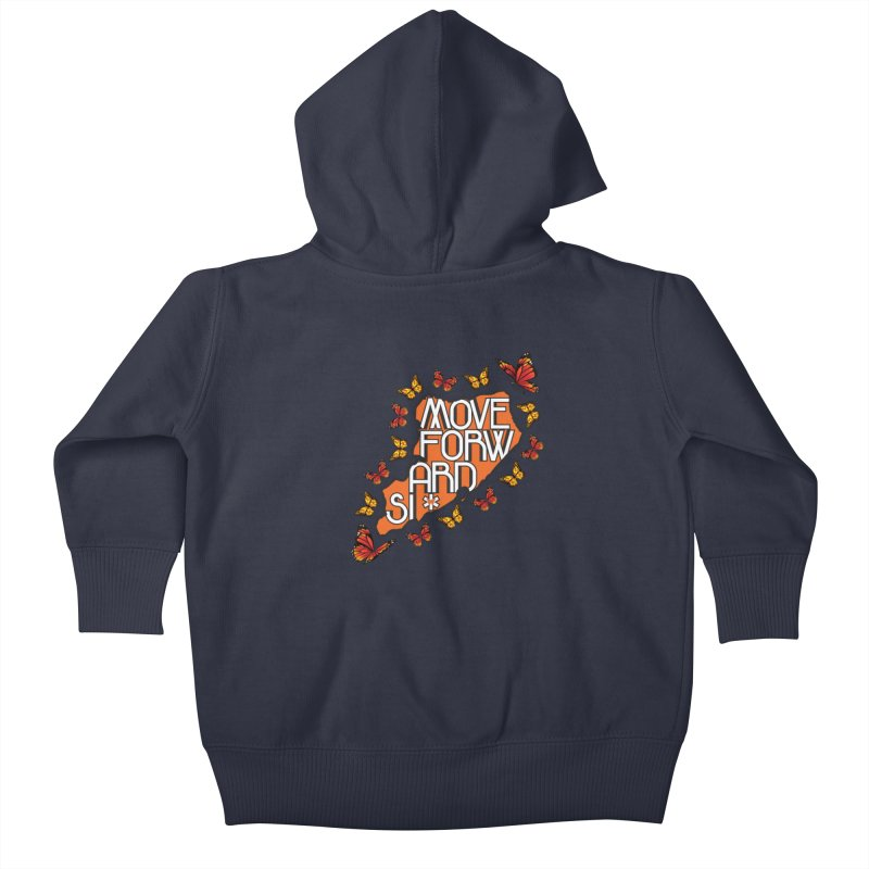 Immigrant Heritage Kids Baby Zip-Up Hoody by moveforwardsi's Artist Shop