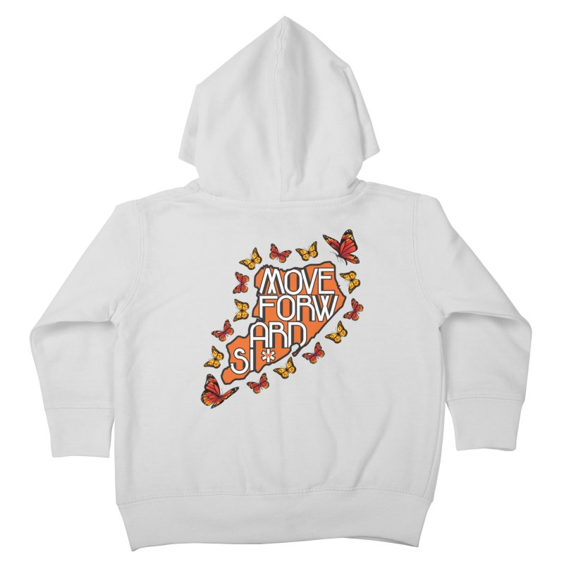 Immigrant Heritage Kids Toddler Zip-Up Hoody by moveforwardsi's Artist Shop