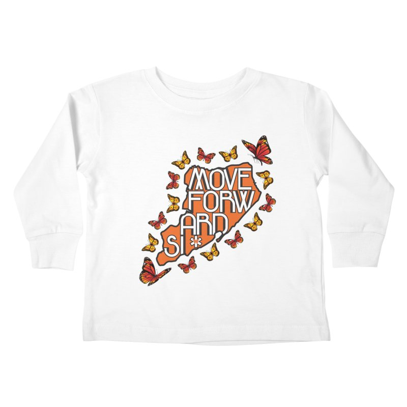 Immigrant Heritage Kids Toddler Longsleeve T-Shirt by moveforwardsi's Artist Shop