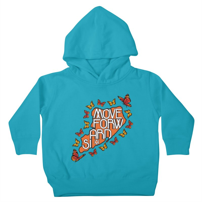 Immigrant Heritage Kids Toddler Pullover Hoody by moveforwardsi's Artist Shop