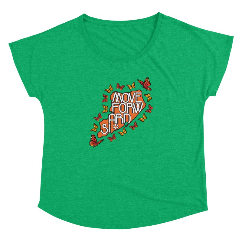 Immigrant Heritage Women's Dolman Scoop Neck by moveforwardsi's Artist Shop