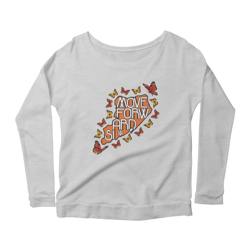 Immigrant Heritage Women's Scoop Neck Longsleeve T-Shirt by moveforwardsi's Artist Shop