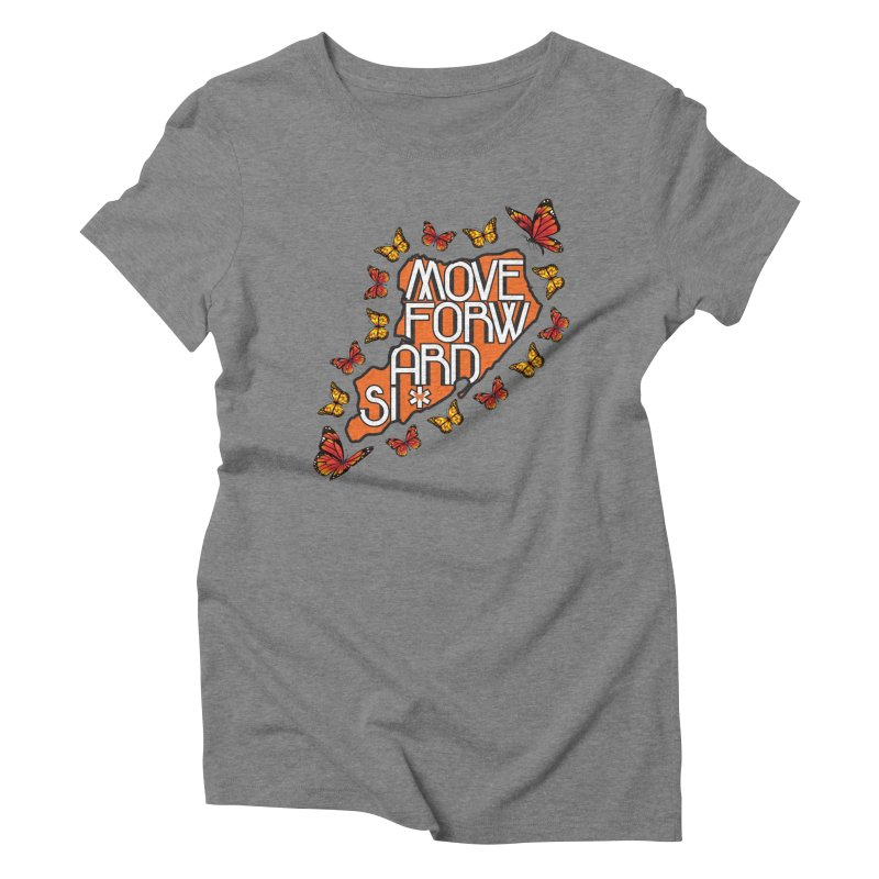 Immigrant Heritage Women's Triblend T-Shirt by moveforwardsi's Artist Shop