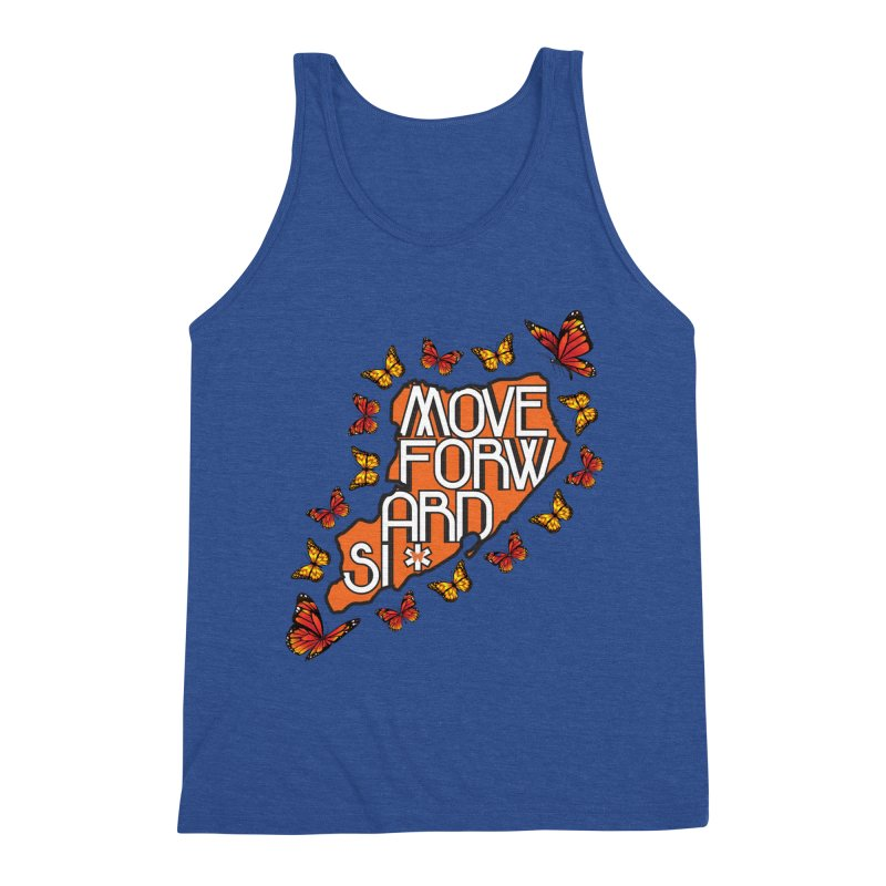 Immigrant Heritage Men's Triblend Tank by moveforwardsi's Artist Shop