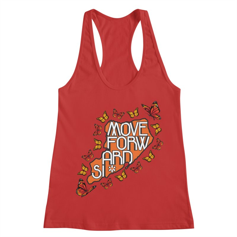 Immigrant Heritage Women's Racerback Tank by moveforwardsi's Artist Shop