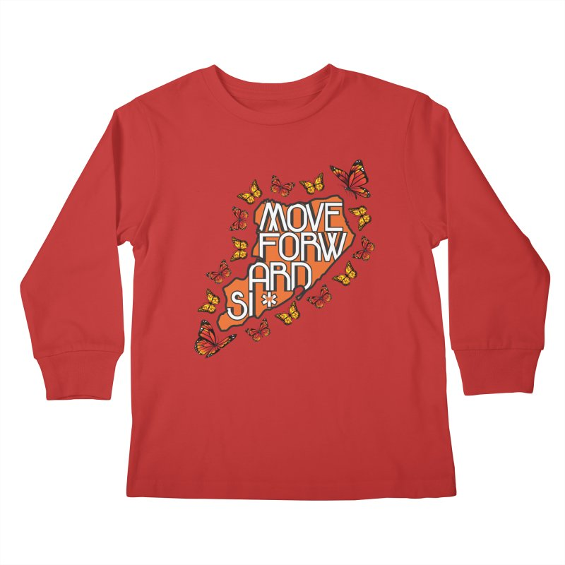 Immigrant Heritage Kids Longsleeve T-Shirt by moveforwardsi's Artist Shop