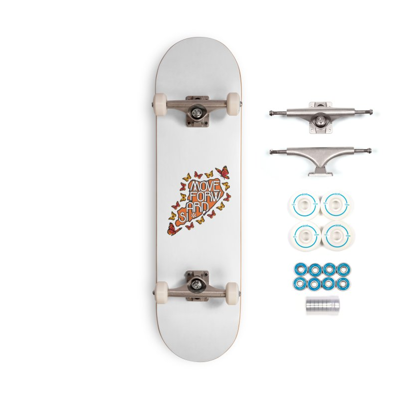 Immigrant Heritage Accessories Complete - Basic Skateboard by moveforwardsi's Artist Shop