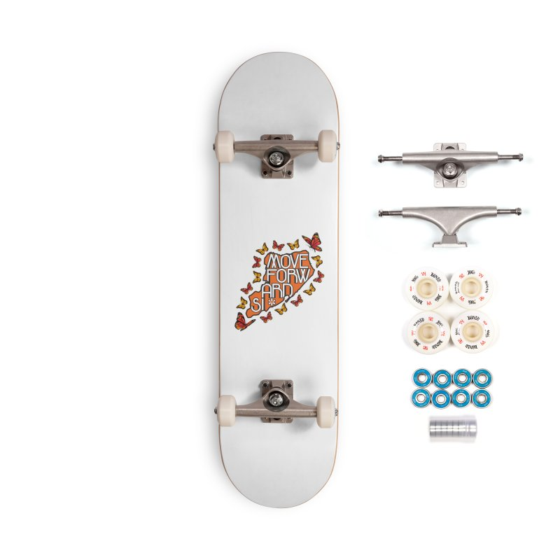 Immigrant Heritage Accessories Complete - Premium Skateboard by moveforwardsi's Artist Shop