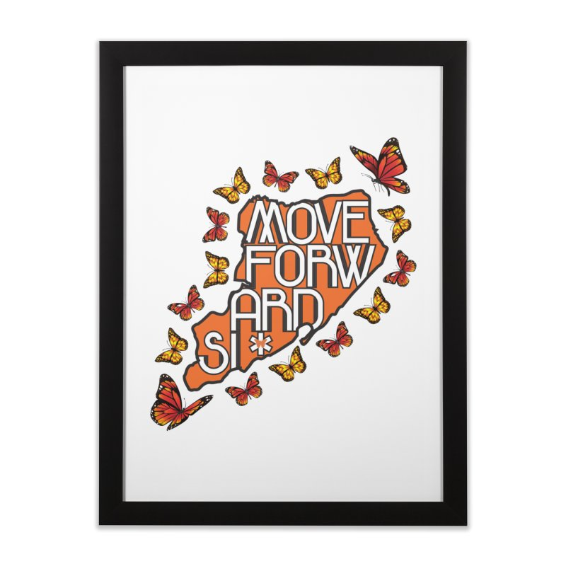 Immigrant Heritage Home Framed Fine Art Print by moveforwardsi's Artist Shop