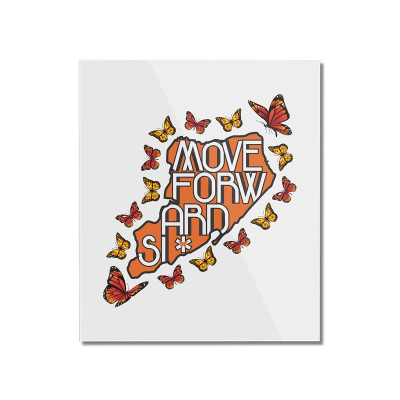 Immigrant Heritage Home Mounted Acrylic Print by moveforwardsi's Artist Shop