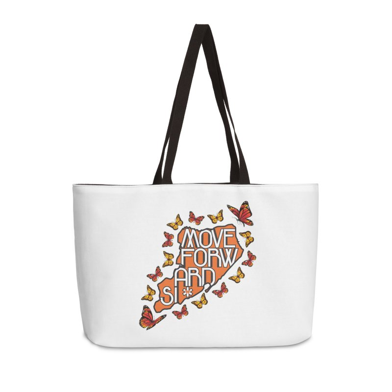 Immigrant Heritage Accessories Weekender Bag Bag by moveforwardsi's Artist Shop