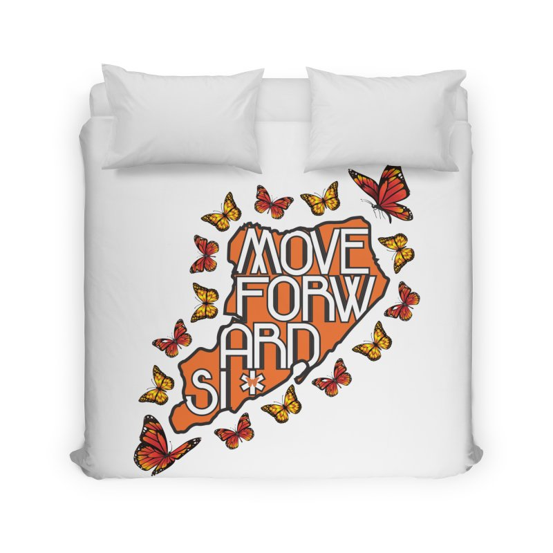Immigrant Heritage Home Duvet by moveforwardsi's Artist Shop