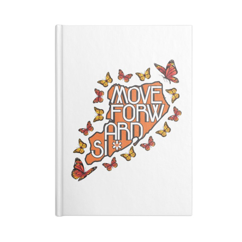 Immigrant Heritage Accessories Lined Journal Notebook by moveforwardsi's Artist Shop