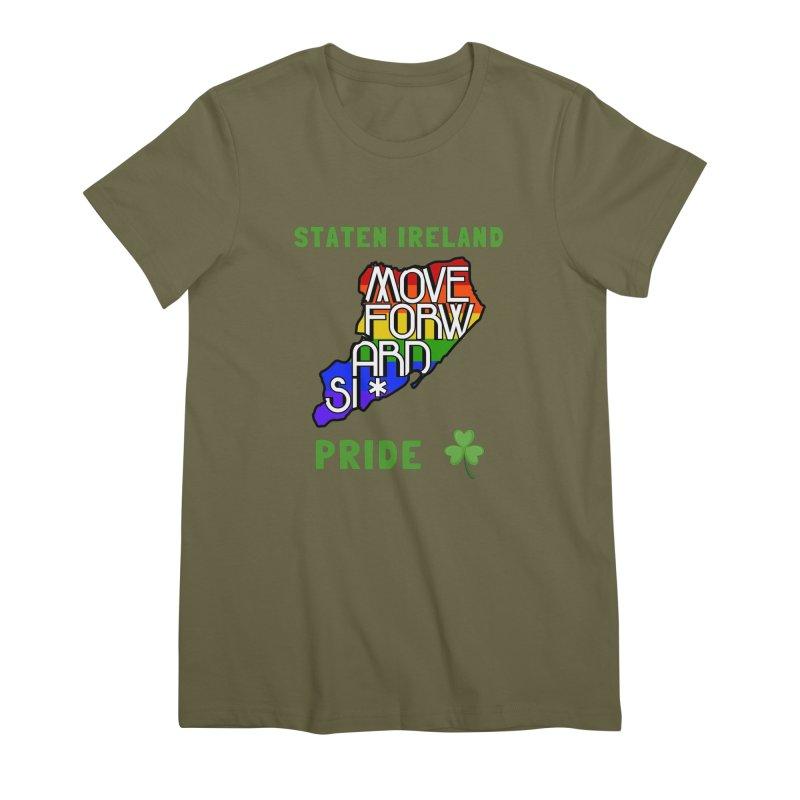 Staten Ireland Pride Women's Premium T-Shirt by moveforwardsi's Artist Shop