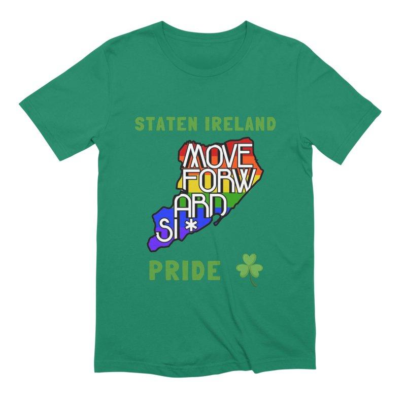 Staten Ireland Pride Men's Extra Soft T-Shirt by moveforwardsi's Artist Shop
