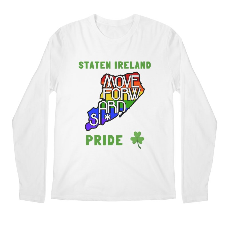 Staten Ireland Pride Men's Regular Longsleeve T-Shirt by moveforwardsi's Artist Shop