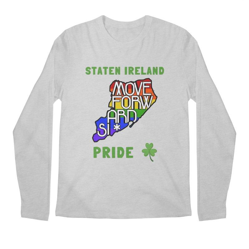 Staten Ireland Pride Men's Regular Longsleeve T-Shirt by moveforwardsi's Artist Shop