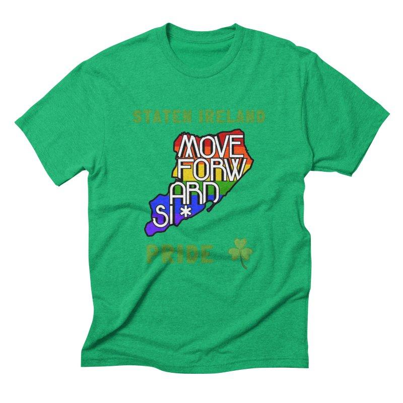 Staten Ireland Pride Men's Triblend T-Shirt by moveforwardsi's Artist Shop
