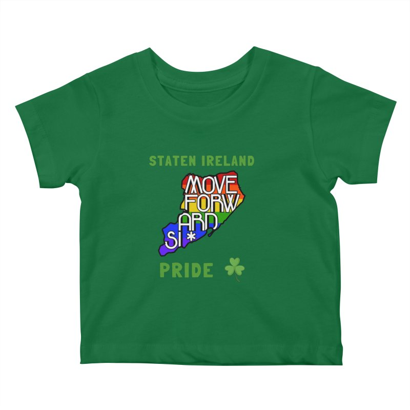 Staten Ireland Pride Kids Baby T-Shirt by moveforwardsi's Artist Shop