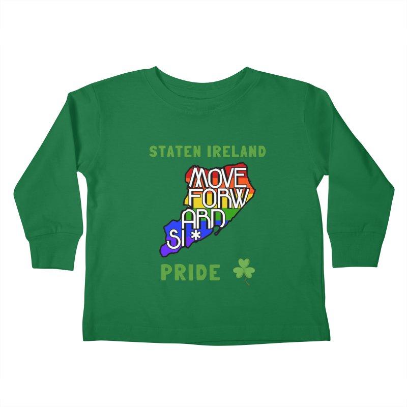 Staten Ireland Pride Kids Toddler Longsleeve T-Shirt by moveforwardsi's Artist Shop