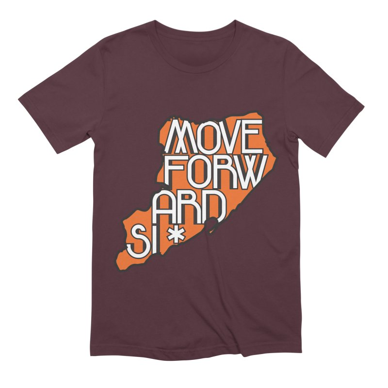 Move Forward Staten Island Men's Extra Soft T-Shirt by moveforwardsi's Artist Shop