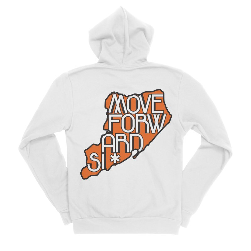 Move Forward Staten Island Women's Sponge Fleece Zip-Up Hoody by moveforwardsi's Artist Shop