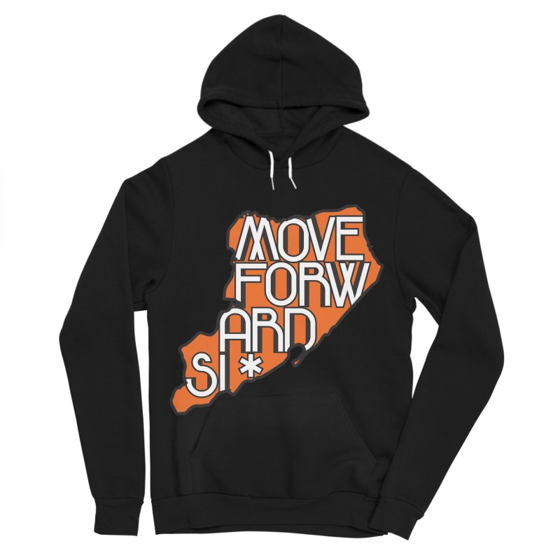 Move Forward Staten Island Women's Sponge Fleece Pullover Hoody by moveforwardsi's Artist Shop