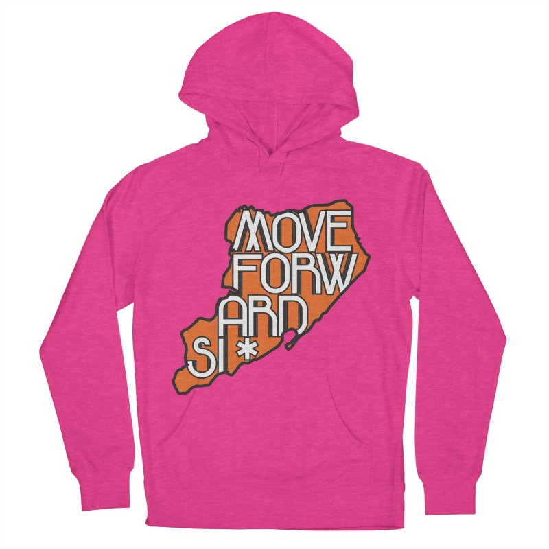 Move Forward Staten Island Men's French Terry Pullover Hoody by moveforwardsi's Artist Shop