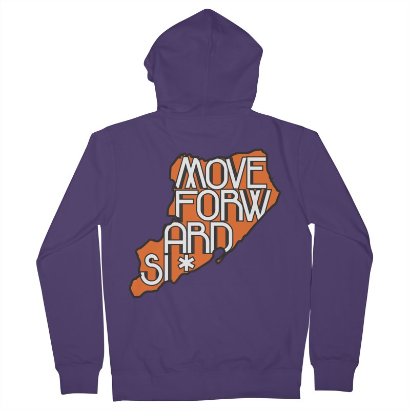 Move Forward Staten Island Women's French Terry Zip-Up Hoody by moveforwardsi's Artist Shop