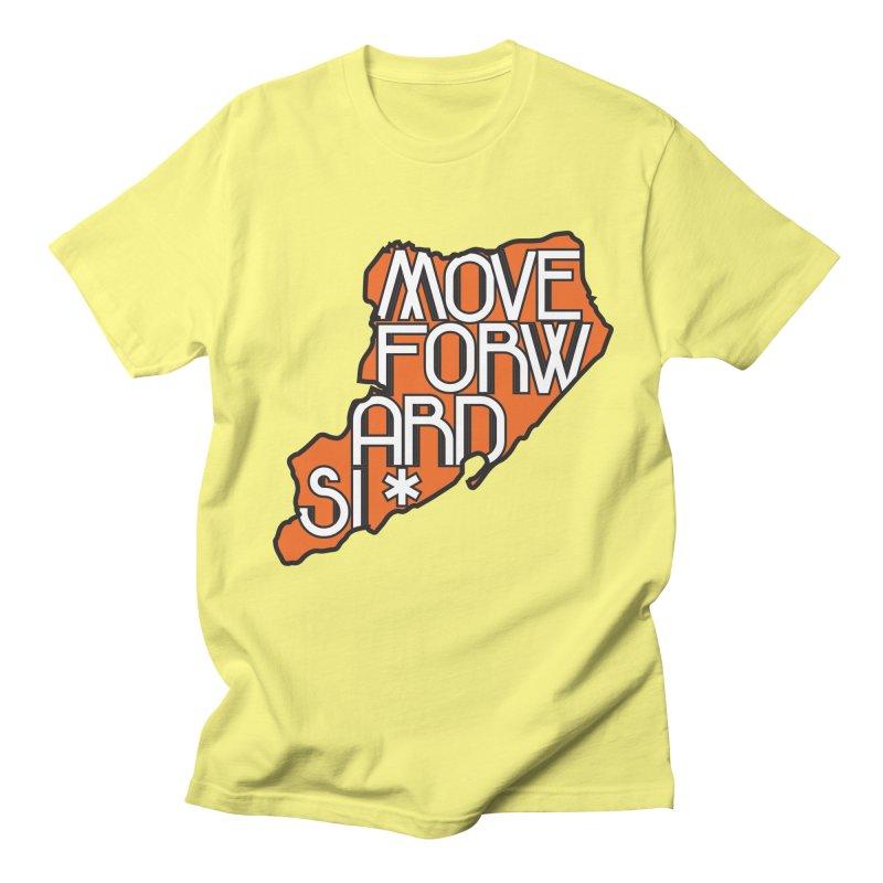Move Forward Staten Island Men's Regular T-Shirt by moveforwardsi's Artist Shop