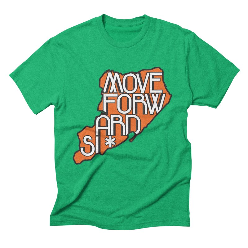 Move Forward Staten Island Men's Triblend T-Shirt by moveforwardsi's Artist Shop