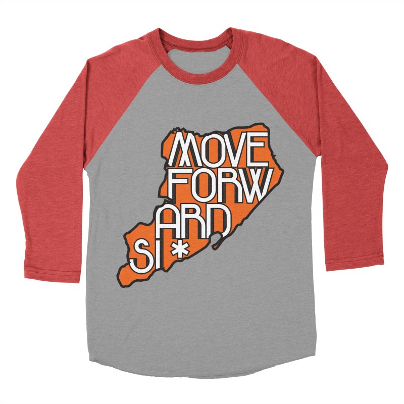 Move Forward Staten Island Women's Baseball Triblend Longsleeve T-Shirt by moveforwardsi's Artist Shop