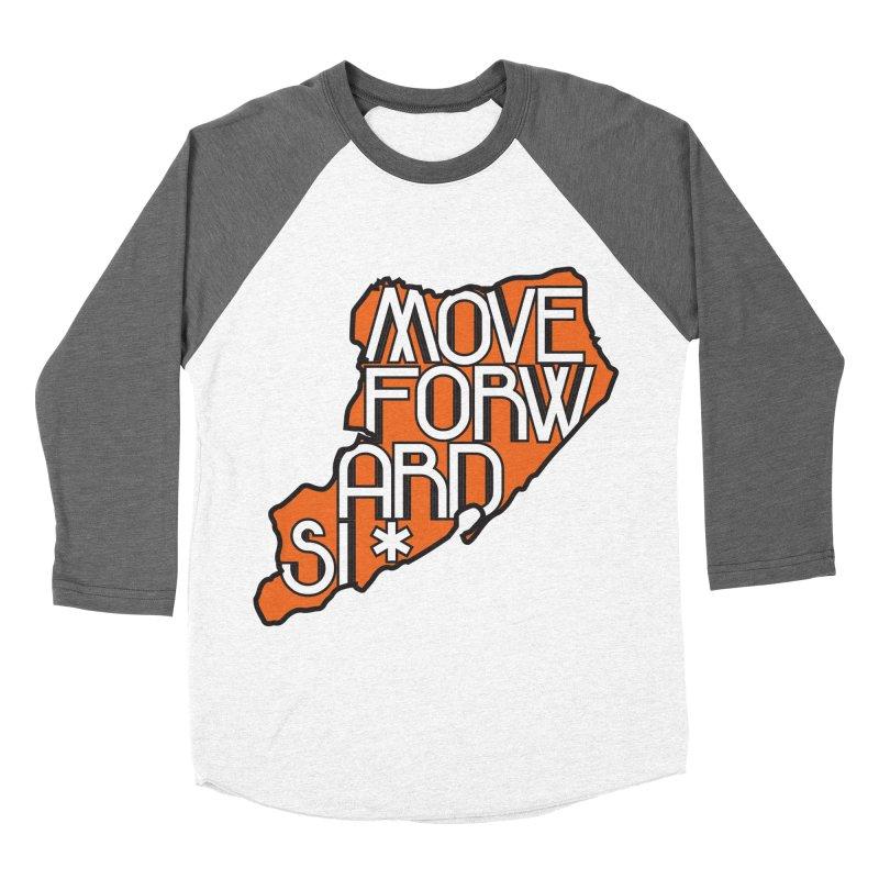 Move Forward Staten Island Men's Baseball Triblend Longsleeve T-Shirt by moveforwardsi's Artist Shop